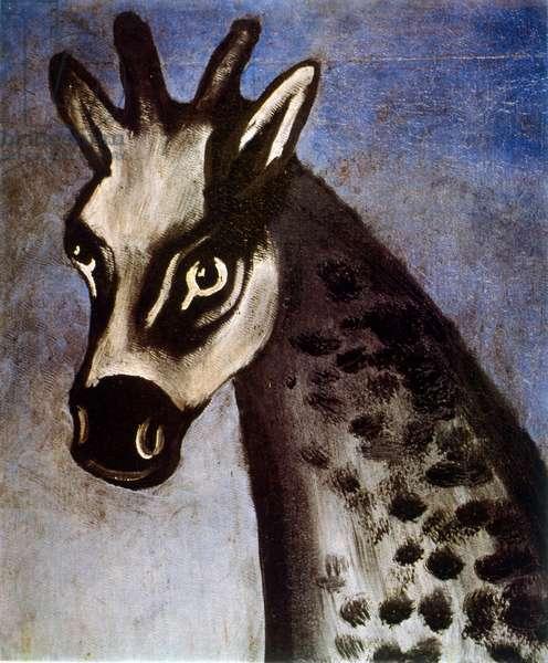 Giraffe, c. 1905 (painting)