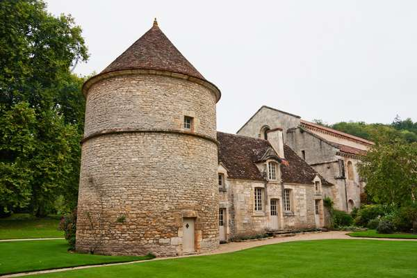 Dovecote and Kennel of the Cistercian Abbey of Fontenay, Cote D'or, France (photo)