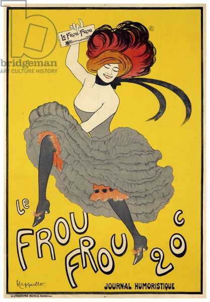 Le Frou-Frou (1899) inaugural issue