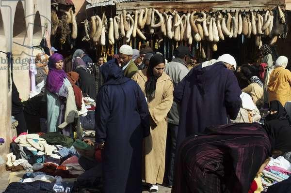 Morocco, Marrakesh, Old Slaves Market