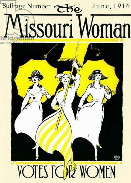 The Missouri Woman, 1916