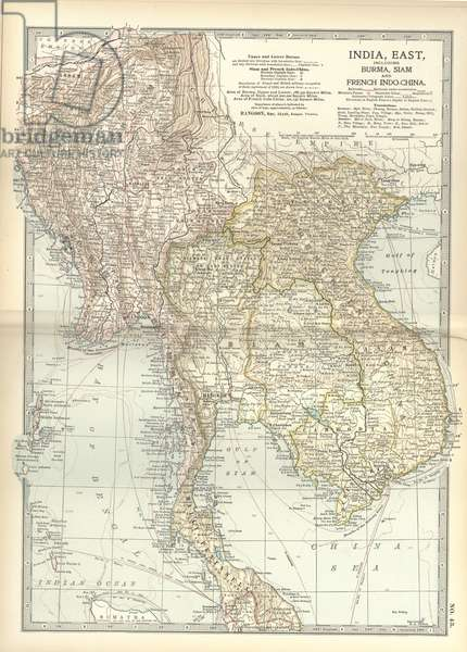 Map of Eastern India