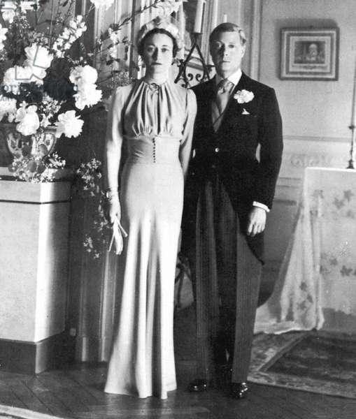 Duke of Windsor and Wallis Simpson, 3 June 1937