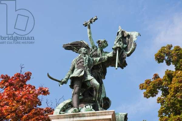 1849 Hungarian Declaration of Independence Monument, Budapest, Hungary (photo)