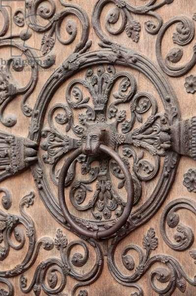 Notre-Dame of Paris cathedral Virgin door (photo)