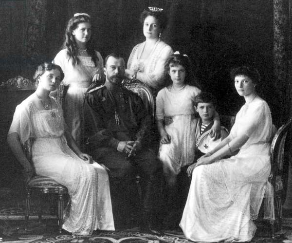 Portrait of the Romanov 1914