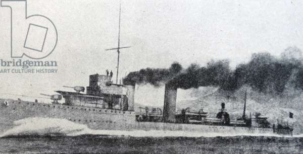 Spanish naval destroyer (Churruca-Class)