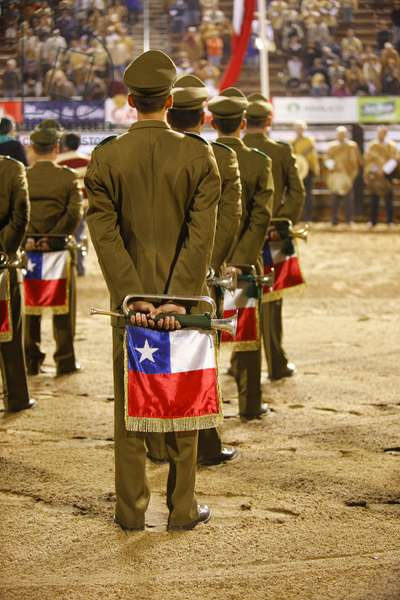 Chilean Military Band at Rodeo (photo)