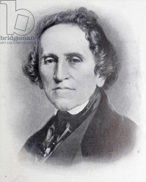 Giacomo Meyerbeer. German-Jewish born opera composer.