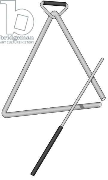 Triangle and beater.
