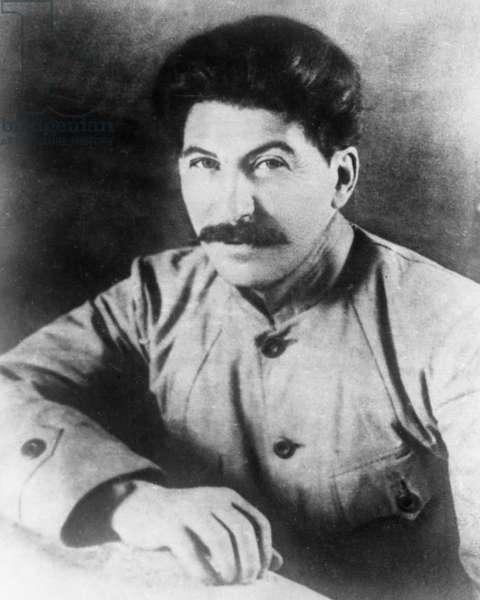 Joseph Stalin in 1917.