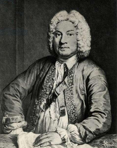 Portrait of Francoise Couperin