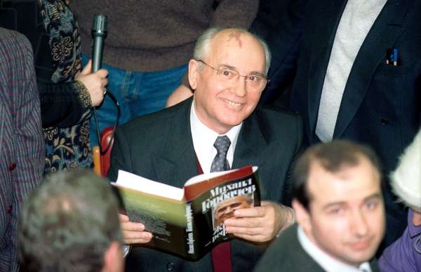 Moscow, Presentation of the Book Written by President of the Soviet Union Mikhail Gorbachev, January 26, 1996.