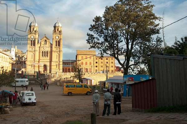 Ambozontany Cathedral, Fianarantsoa, Madagascar (photo)