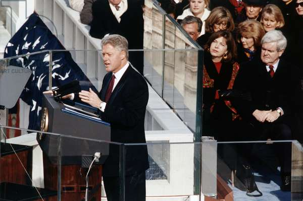 The inauguration speech of President Bill Clinton, 1993
