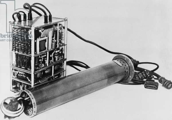 Instrument for Measuring Earth'S Magnetic Field Carried by Sputnik 3.