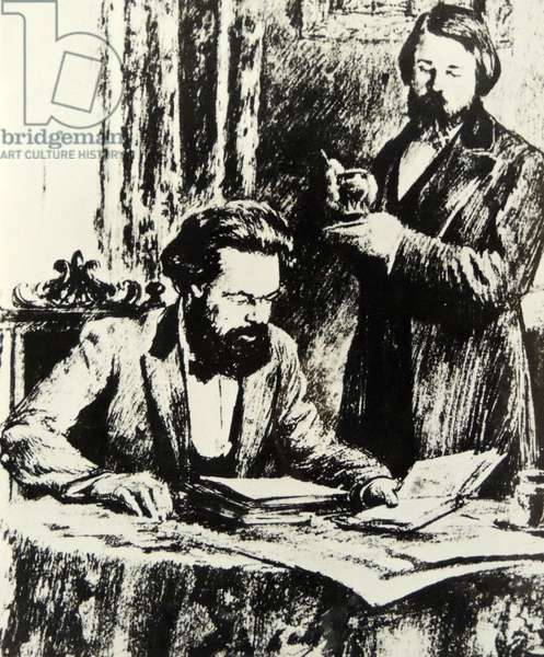 Friedrich Ebert and Karl Marx