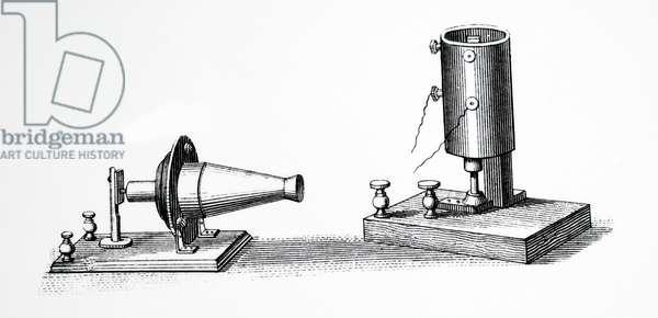 Alexander Graham Bell's photo phone, 1885