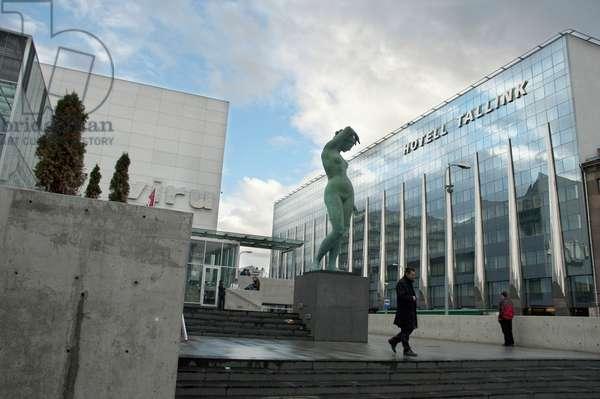 Cultural Centre and Hotel Tallink, Tallinn, Estonia (photo)
