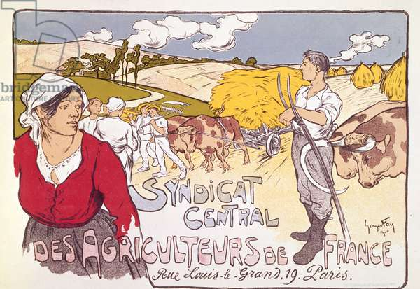 Poster for the French Agricultural Workers Union