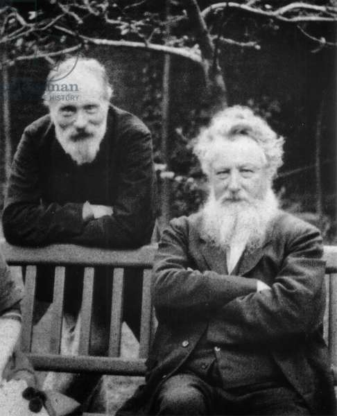 Edward Burne-Jones and William Morris, 1890