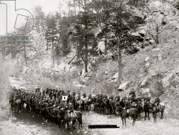 Indian Chiefs, Officials (b/w photo)