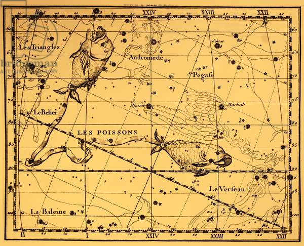 The constellation Pisces.