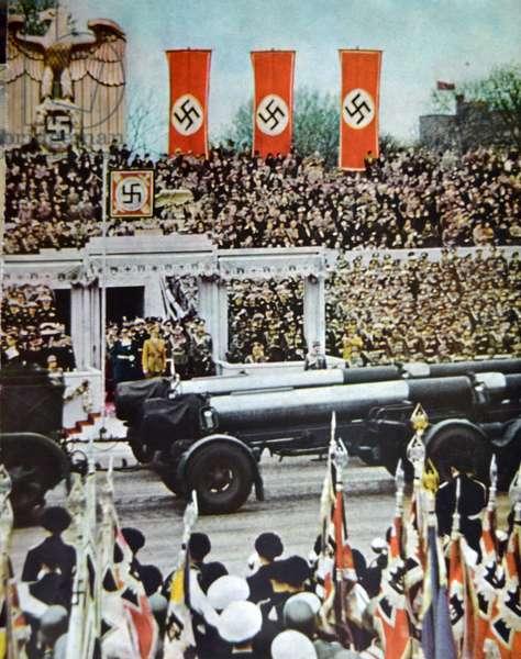 German Chancellor Adolf Hitler, 1939
