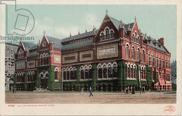 The Art Museum, Boston, Mass