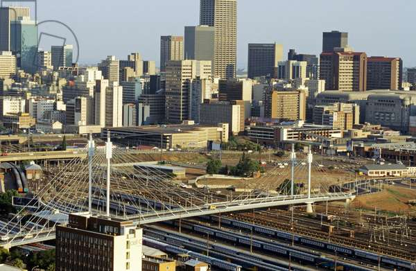 Nelson Mandela bridge, Johannesburg, Gauteng (photo)