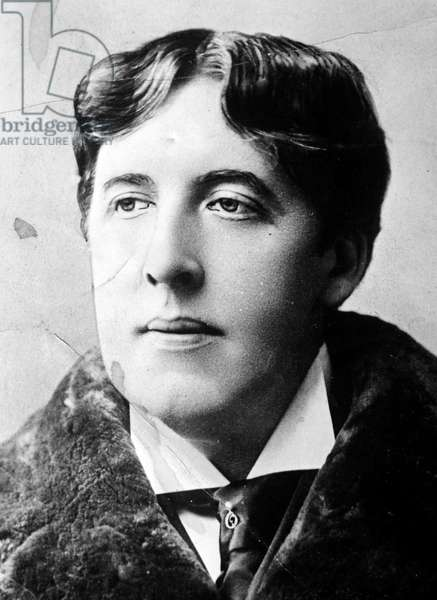 Irish Writer and Poet Oscar Wilde, 1894