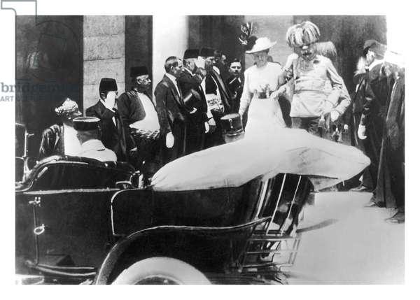Archduke Franz Ferdinand of Austria in Sarajevo