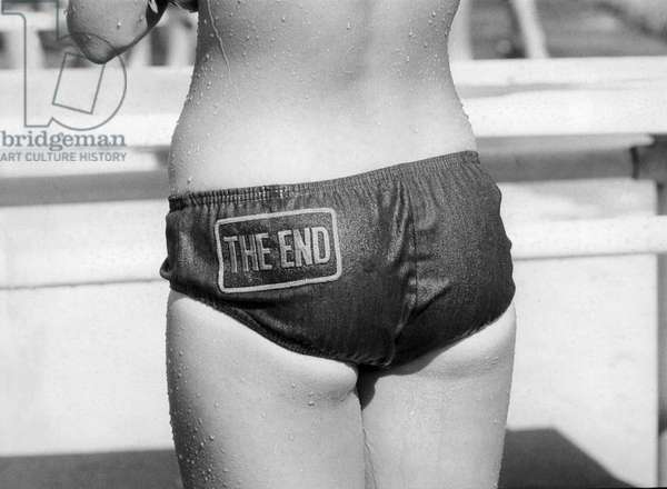 The Bikini End (b/w photo)