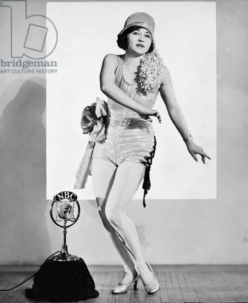 Tap Dancing On NBC Radio, United States, c.1930 (b/w photo)