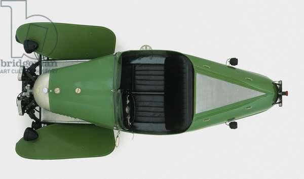 1927 Morgan Aero, overhead view