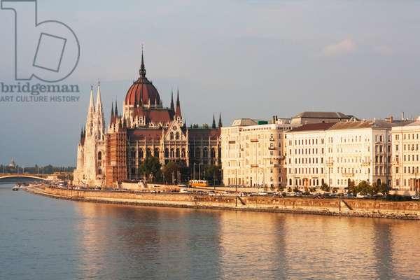 Hungarian Parliament Building, Budapest, Hungary (photo)