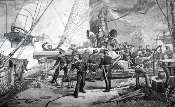 American Civil War-Sinking of the CSS Alabama 1864