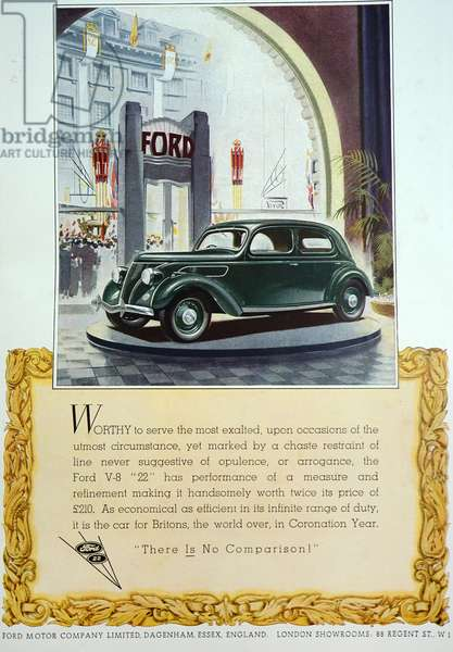 Advert for a 1932 Ford V-8, 1932