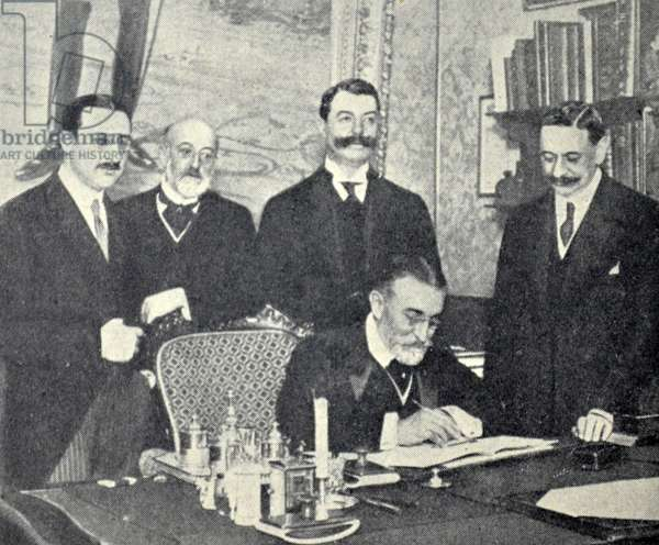 Treaty Between France and Spain Regarding Morocco. 1911.