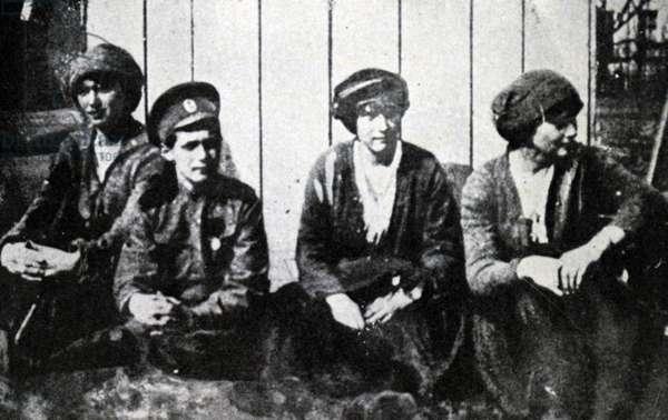 The children of Tsar Nicholas II of Russia.