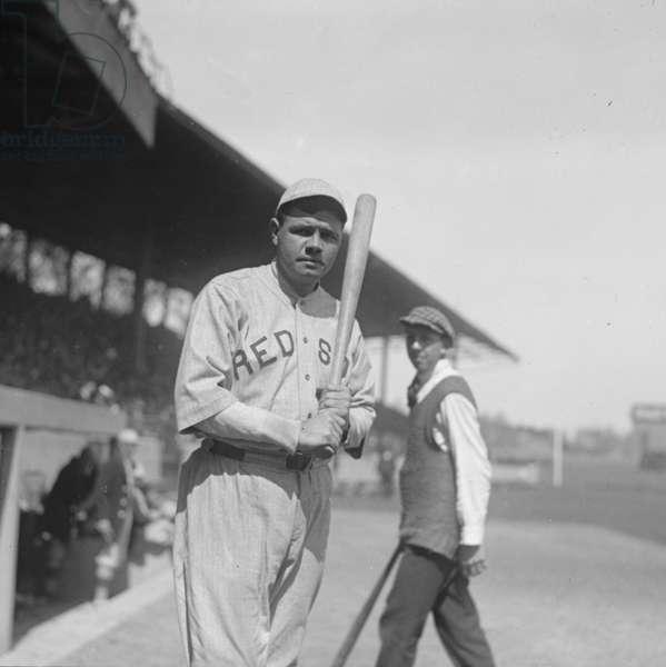 Babe Ruth 1919 (photo)