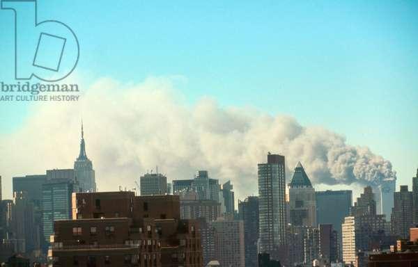 The September 11 (or 9/11) Islamic terrorist group al-Qaeda attacks on New York.