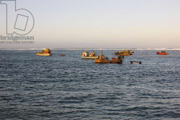 Trawlers, Port Nolloth Harbour (photo)