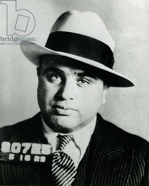 Al Capone, 1930 (b/w photo)