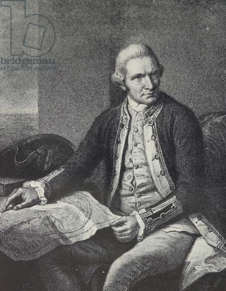 Captain James Cook, 1770