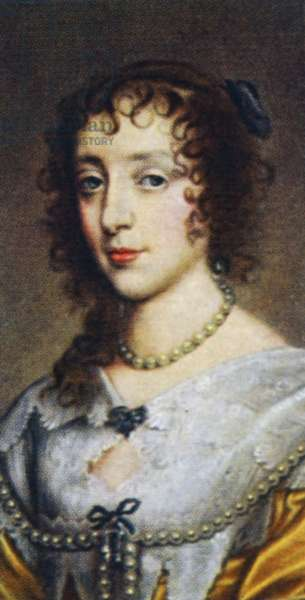 Henrietta Maria of France.