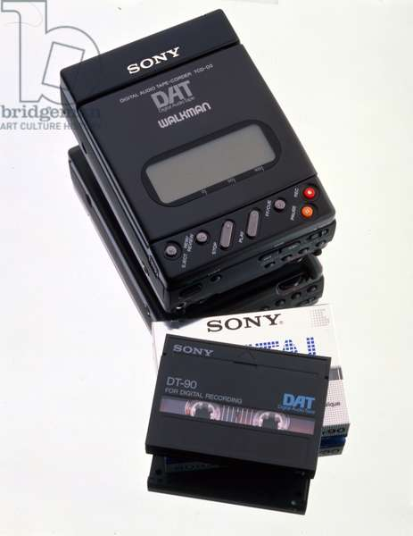 Sony TCD-D3 Digital Audio Tape Recorder and cassette tape