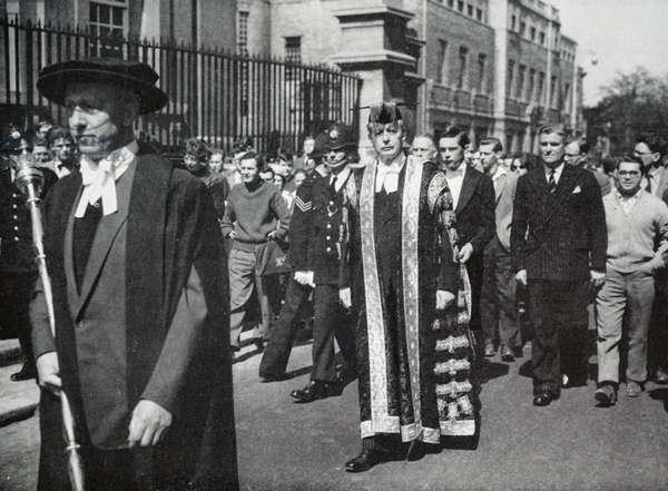 Former Prime Minister Harold Macmillan, 1950