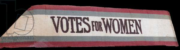 Suffragette banner