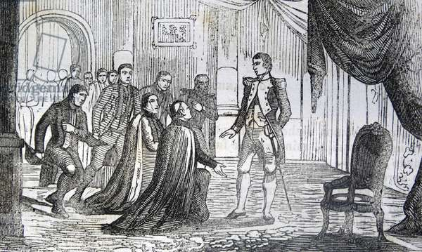 The congratulations of King Joseph-Napoléon Bonaparte